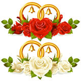 wiązka dzwoni róż target823_1_ Obraz Stock