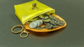 WIĄZKA INDIAŃSKIE walut monety Fotografia Royalty Free