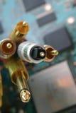 wiązka kabli kable Obraz Stock