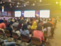 Wiązka ludzie przy seminaryjną salą konferencyjną zdjęcia royalty free