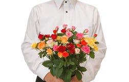 Wiązka róże Zdjęcia Stock