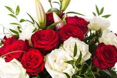 Wiązka róże Fotografia Royalty Free