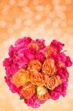 Wiązka róże zdjęcia royalty free