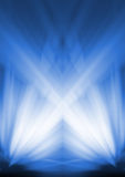 wiązki światła Obrazy Royalty Free