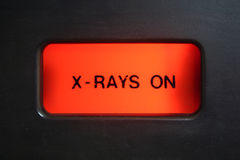 wiązki światła ostrzegawczego x zdjęcia stock