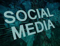 wiązki komunikacyjne pojęcia rozmowy ma środki zaludniają socjalny fotografia stock