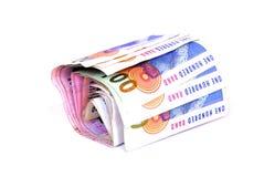 wiązki pieniądze skraje zdjęcia stock