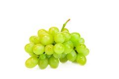 wiązki winogron zielony ilustracyjny realistyczny wektor Obraz Royalty Free