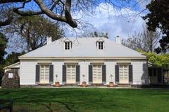 ` wiązu `, historyczny budynek w Tauranga, Nowa Zelandia obrazy stock