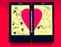 Więź uczuciowa miłość Obraz Royalty Free