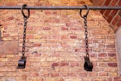 Więźniarscy łańcuchy Zdjęcie Royalty Free