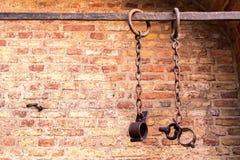 Więźniarscy łańcuchy Obrazy Royalty Free