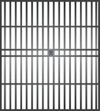 Więźniarscy bary Zdjęcia Stock