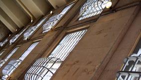 więźniarscy okno Zdjęcie Stock