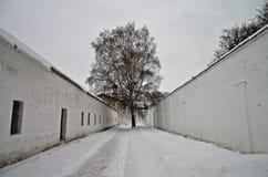 Więźniarski jard. obraz royalty free