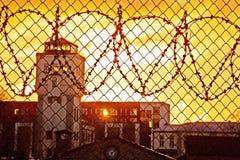 więźniarski jard zdjęcie royalty free