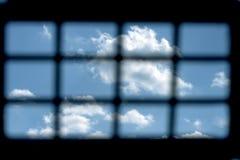 Więźniarski okno Obraz Royalty Free