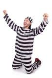 Więźniarski więzień odizolowywający Obrazy Royalty Free