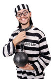 Więźniarski więzień odizolowywający Fotografia Royalty Free