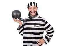 Więźniarski więzień odizolowywający Zdjęcia Stock