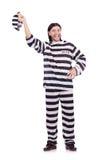 Więźniarski więzień odizolowywający Obraz Royalty Free