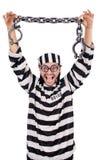 Więźniarski więzień odizolowywający Fotografia Stock