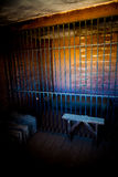 Więźniarski wnętrze Fotografia Royalty Free