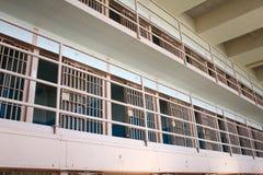 więźniarskie alcatraz komórki Zdjęcia Stock