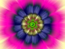 Więcej Flower Power Obrazy Royalty Free