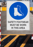 więcej mojego portfolio znak podpisuje ostrzeżenie zdjęcie royalty free