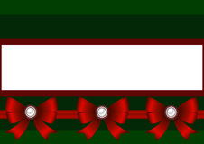 więcej toreb, Świąt oszronieją Klaus Santa niebo Bożenarodzeniowe dekoracje z czerwonym łękiem Fotografia Royalty Free