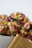 więdnąca bukiet róża Obrazy Stock