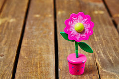 Więdnąca kwiatu meksykanina zabawka obraz stock