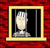 więzień Royalty Ilustracja