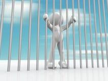 więzień Zdjęcia Royalty Free