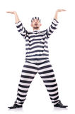 Więzień przestępca Zdjęcia Royalty Free