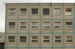 Więzienie ściana Fotografia Stock