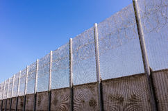 Więzienie ściana Obrazy Royalty Free