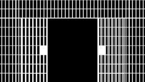 Więzienie bary zamykający royalty ilustracja