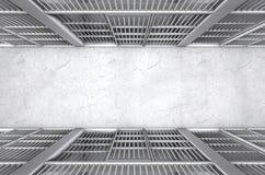 Więzienie komórki korytarza wierzchołek Obraz Stock