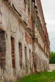 Więzienie w Syberia †'zaniechany nienareperowany budynek stary więzienie w Tobolsk Rosja zdjęcia stock