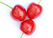 wiśni czerwień trzy Fotografia Stock