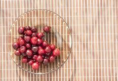 wiśnie jeden półkowy słodki biel Fotografia Stock