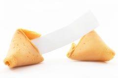Wi abiertos chinos de la galleta de fortuna Fotografía de archivo libre de regalías