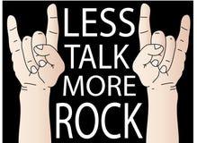 więcej rockowa rozmowa Fotografia Royalty Free