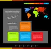 Wi för mall för rengöringsdukdesign Royaltyfria Bilder