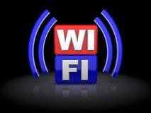 Wi-Fi标志 图库摄影