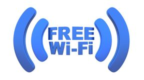 Wi-fi Royalty Free Stock Photography