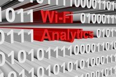 Wi-FI-Analytik Lizenzfreie Stockfotos