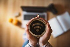 Wi-fi concept Stock Photo